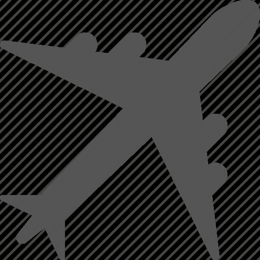 airplane, flights, jet, plane, trip, vacation icon