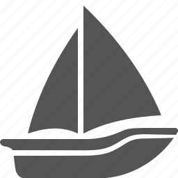 boat, sailboat, trip, vacation, yacht, yachting icon