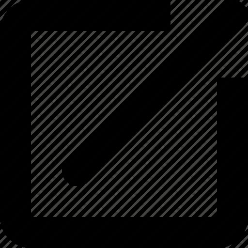 create, edit, make a note, modify, update icon
