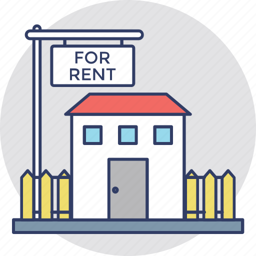 landed property, property for rent, property rental, relocation, tenant lease icon