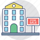 building sale, buy property, property for sale, real estate, residential selling icon