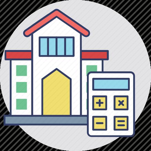 house value, house worth, property analyzing, property estimation, property marketing icon