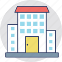 accommodation, apartments, building, family house, flats icon