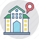 home location, location, location holder, map pin, navigation