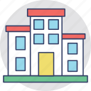 apartments, building, flats, housing society, residential flats icon