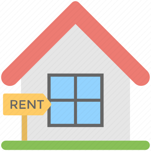 house for rent, landed property, property rental, relocation, tenant lease icon