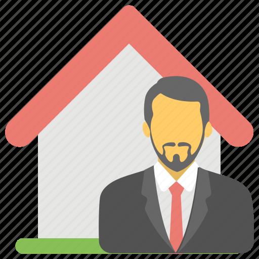 estate agent, homeowner, property advisor, property agent, property owner icon