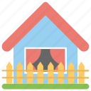 building, cottage, farmhouse, home, real estate icon