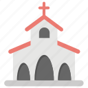 chapel, church, church facade, religious building, religious place icon