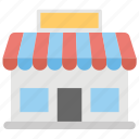 market store, retail shop, shop, shopping store, store icon