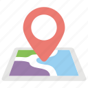location marker, location pin, location pointer, map locator, map pin icon