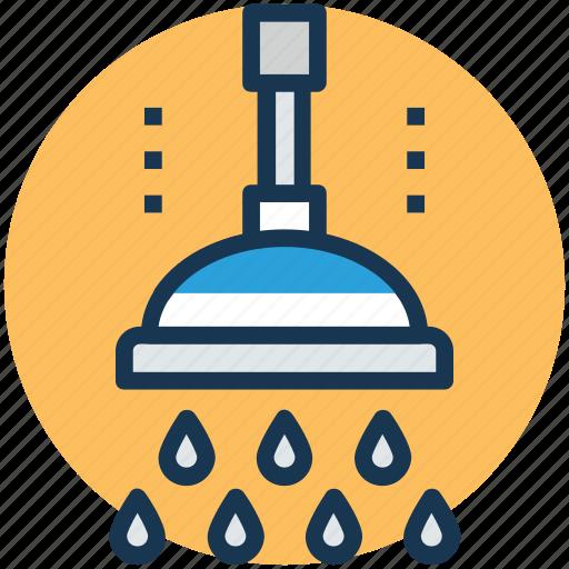 bath, bath sprinkler, bathroom, shower, shower head icon