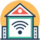 home internet, home networking, home wifi, internet services, wireless internet icon