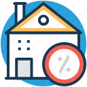 expensive home, house cost, house value, property cost, property rating icon