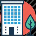 arcade, building front, condominium, residential building, residential flats icon