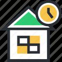 building, sale time, shop, store, time