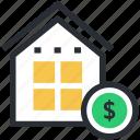 building, dollar, house financing, mortgage, property value, real estate