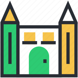 building, islamic building, mosque, religious, tomb building icon