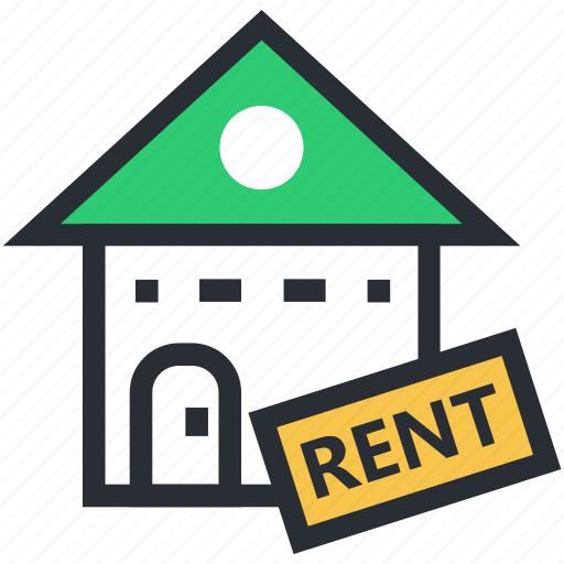 house for rent, information, instruction, message, real estate icon