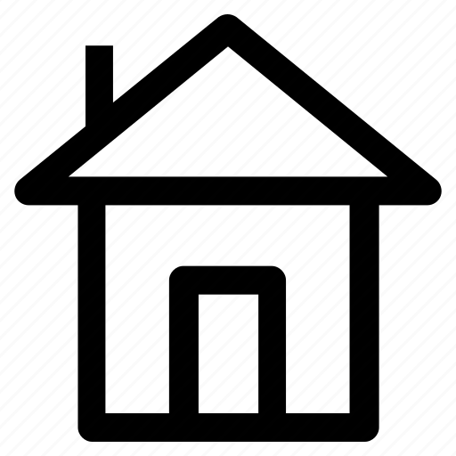 1, building, home, home position, house, property icon