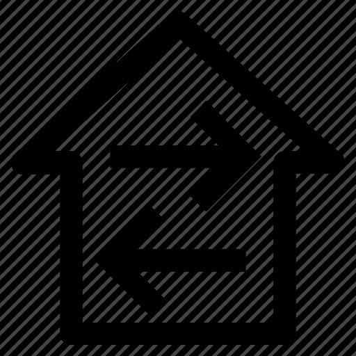 .svg, direction, directions, home, home directions, navigation icon