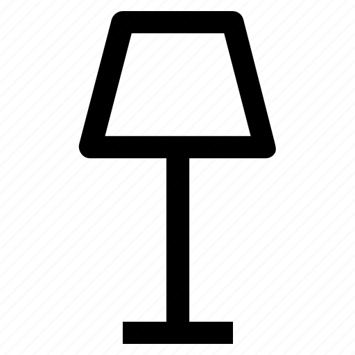 .svg, decoration, interior, lamp, light, table, table lamp icon