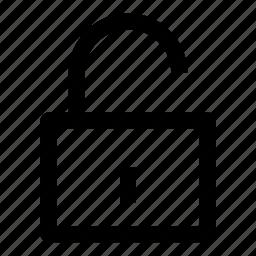 .svg, logout, padlock, secure, security, unlock, unlocked icon