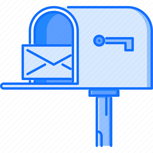 estate, house, letter, mail, mailbox, real, realtor icon