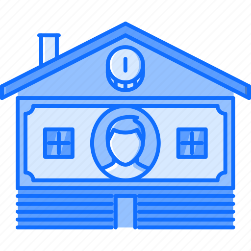 coin, estate, house, money, price, real, realtor icon