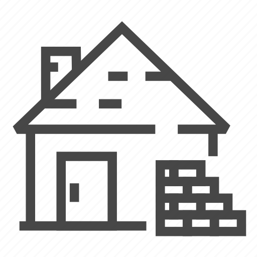 Brick, bricks, real estate, wall, wall materia icon - Download on Iconfinder