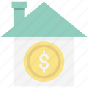 asset, building, house for sale, house price, house value, property value, real estate icon