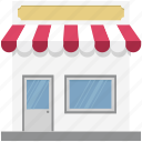 food stand, kiosk, market, marketplace, storefront, street stall, street stand icon