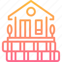 building, estate, loan, money, mortgage, property, real icon