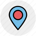 gps, location, map, marker, pin, sticky
