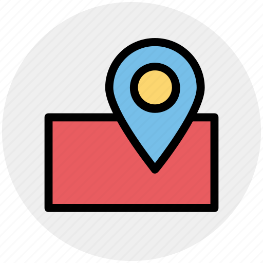 Gps, location, map, marker, pin, sticky, world icon - Download on Iconfinder