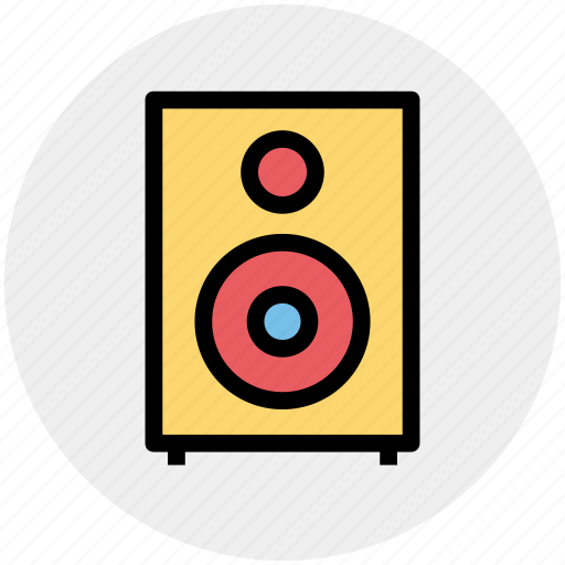 Audio, loudspeaker, music, sound, speaker icon - Download on Iconfinder