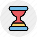 glass, hourglass, sandglass, time, timer, wait icon