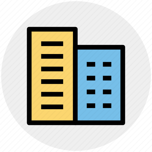 Apartment, building, city, construction, hotel, office, real estate icon - Download on Iconfinder