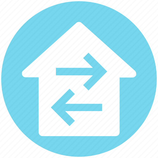 Direction, directions, home, home directions, navigation icon - Download on Iconfinder