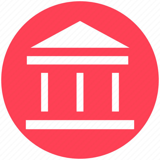 Bank, building, commercial, court, courthouse, law building, office icon - Download on Iconfinder