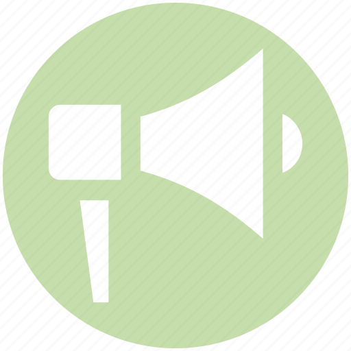 Announcement, board cast, communication, loud, megaphone, speaker, speech icon - Download on Iconfinder