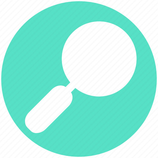 Glass, magnifier, magnifying glass, zoom icon - Download on Iconfinder