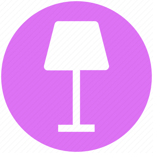 Decoration, interior, lamp, light, table, table lamp icon - Download on Iconfinder