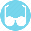 eye glasses, find, glasses, male glasses, read, study, view icon