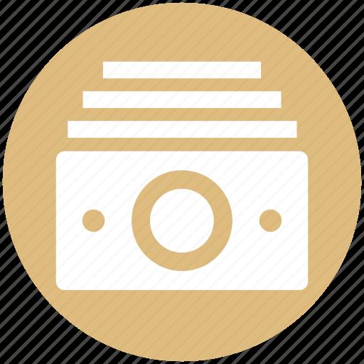 Bundle, cash, cash flow, currency, dollars, finance, money icon - Download on Iconfinder
