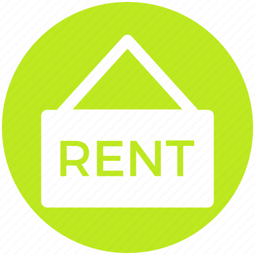 Home, house, information, property, rent, sign, signboard icon - Download on Iconfinder