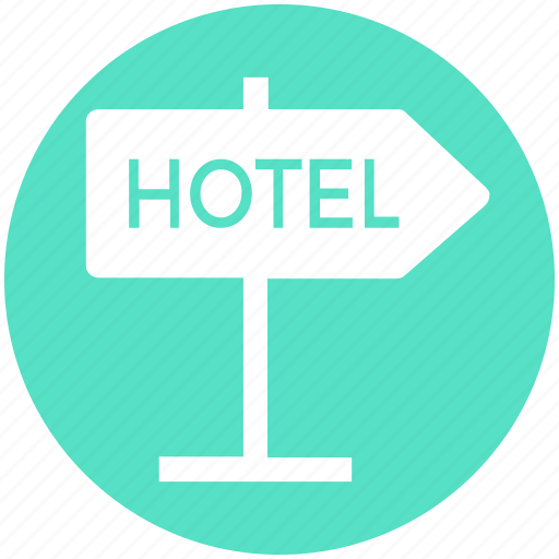 Accommodation, hotel, hotel sign, service, sign, signboard icon - Download on Iconfinder