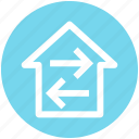 direction, directions, home, home directions, navigation icon