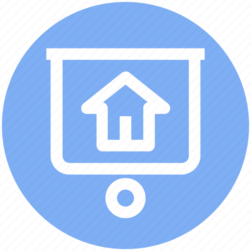 Home board, house board, hut board, property board, real estate, signboard icon - Download on Iconfinder