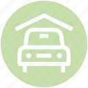car, car garage, car porch, garage, porch, transport, vehicle